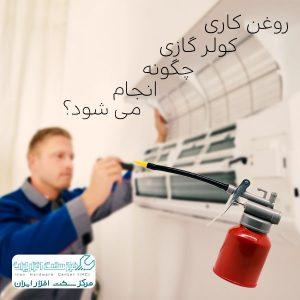 روغن کاری کولر گازی