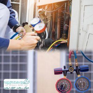 آموزش شارژ کولر گازی