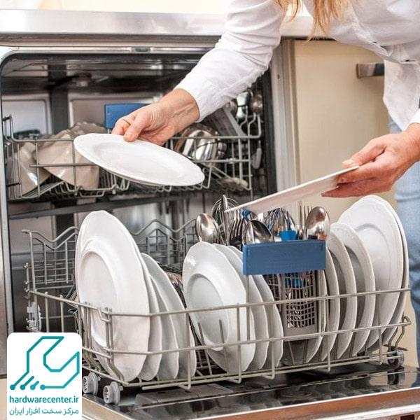 حل نشدن قرص در ماشین ظرفشویی