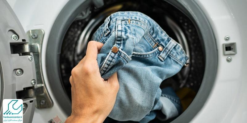 کار نکردن خشک کن ماشین لباسشویی