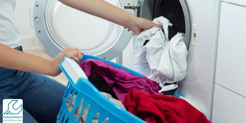 خشک نکردن لباس در ماشین لباسشویی